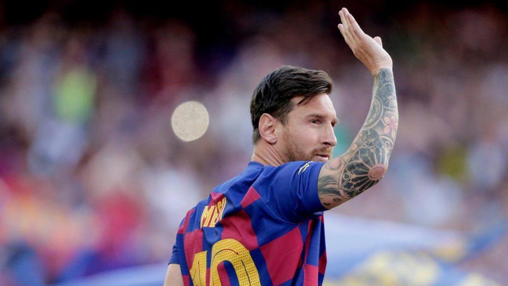 Argentinian Leo Messi