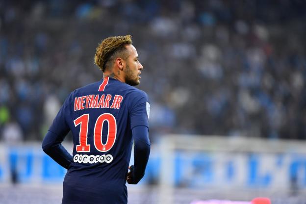 PSG number 10 Neymar